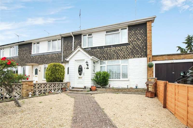 3 Bedrooms End Of Terrace House for sale in Howth Drive, Woodley, Reading, Berkshire, RG5