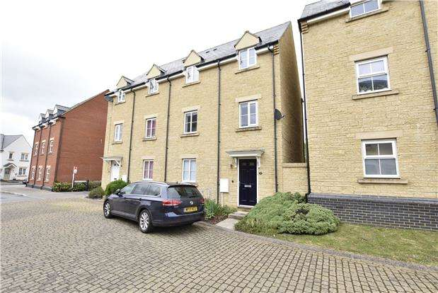 2 Bedrooms End Of Terrace House for sale in West Way, Bishops Cleeve, GL52