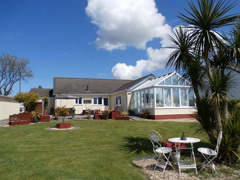 3 Bedrooms Detached Bungalow for sale in Hill Lane, Jeffreyston, Jeffreyston Kilgetty