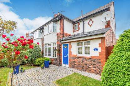 3 Bedrooms Semi Detached House for sale in Hill Top Road, Stockton Heath, Warrington, Cheshire