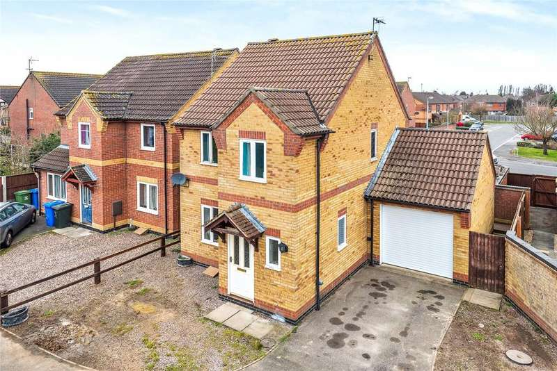 3 Bedrooms Detached House for sale in Wing Drive, Fishtoft, PE21