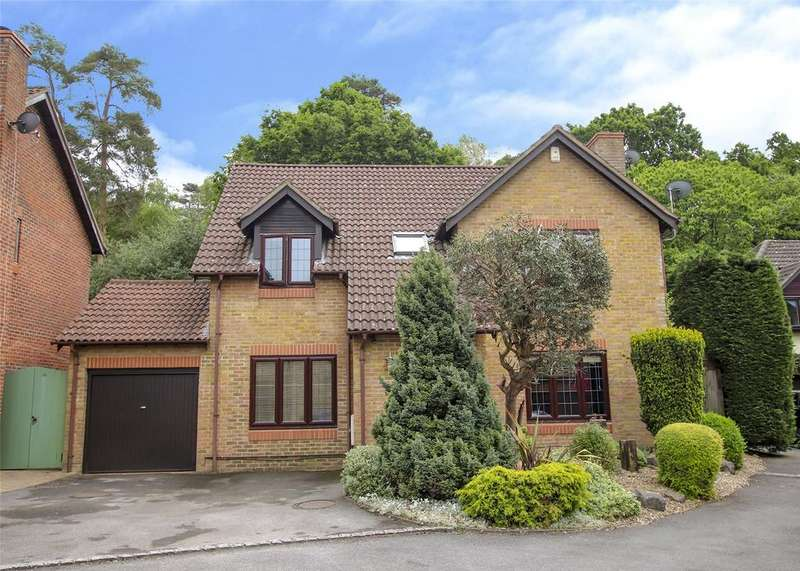 5 Bedrooms Detached House for rent in Sandford Down, The Warren, Bracknell, Berkshire, RG12
