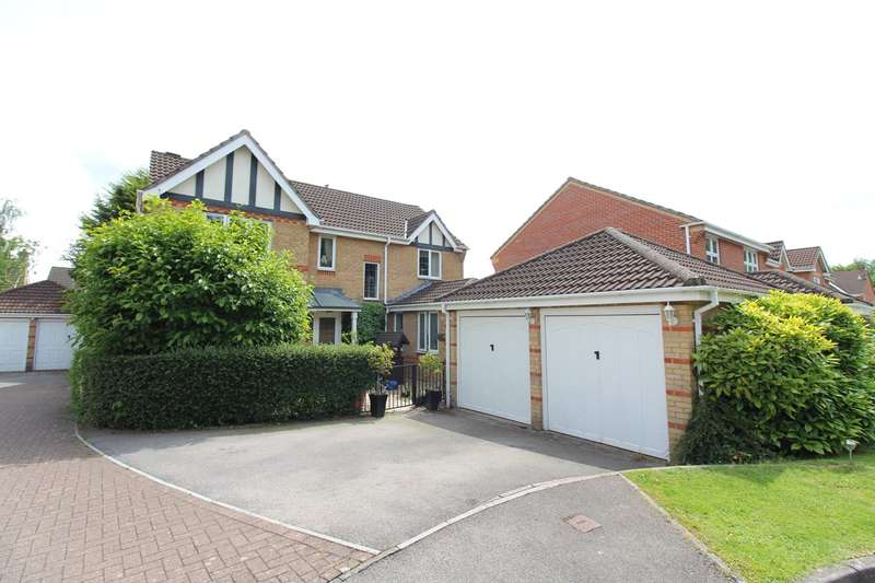 4 Bedrooms Detached House for sale in Priory Way, Langstone, Newport, NP18