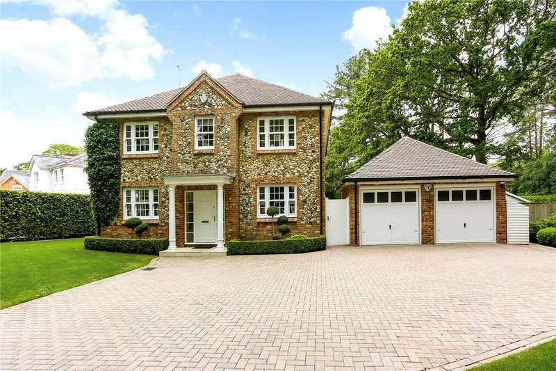 4 Bedrooms Detached House for sale in Coombe Lane, Sunninghill, Ascot, Berkshire, SL5