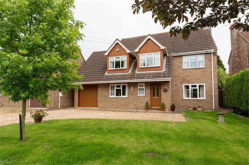 4 Bedrooms Detached House for sale in Station Road, Swineshead, Boston, Lincolnshire