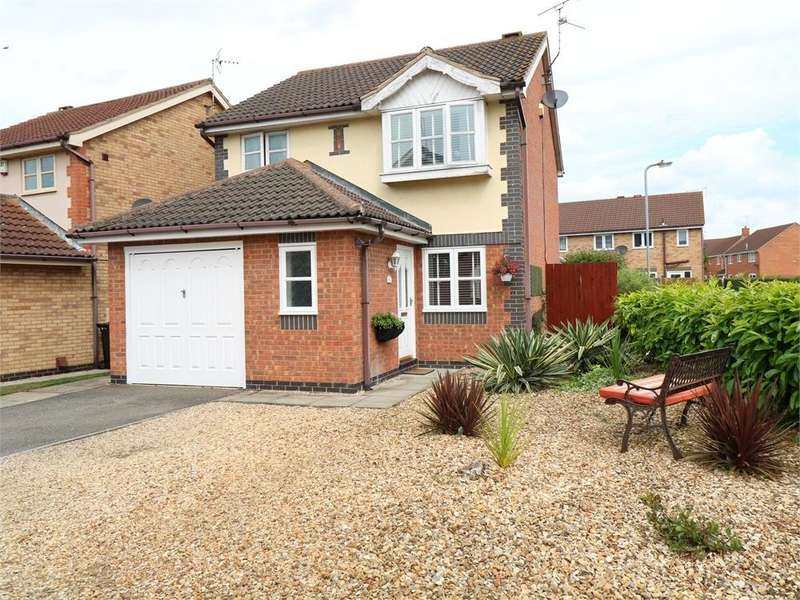 3 Bedrooms Detached House for sale in Wakes Close, BOURNE, Lincolnshire