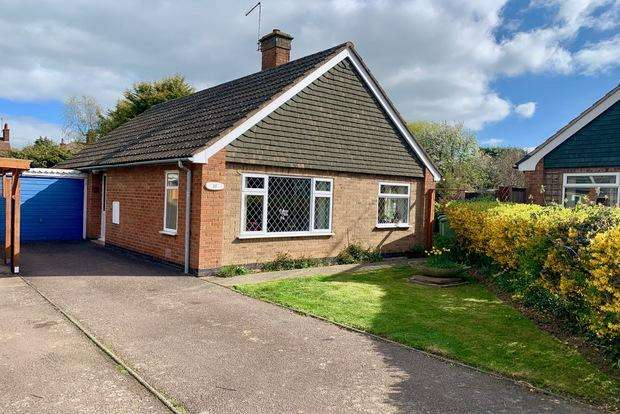 3 Bedrooms Detached Bungalow for sale in Thornborough Close, Market Harborough, LE16