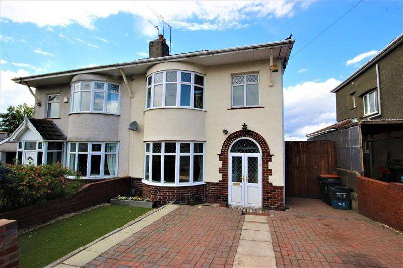 3 Bedrooms Semi Detached House for sale in Firbank Avenue, Newport. NP19 7QS