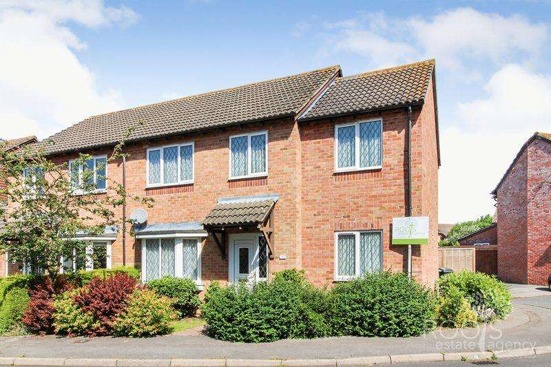 4 Bedrooms Semi Detached House for sale in Fuller Close, Thatcham