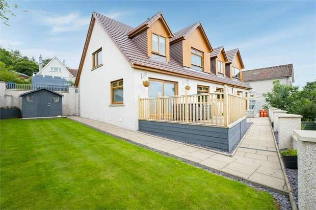 4 Bedrooms Detached House for sale in Causewayend Crescent, Aberchirder, Huntly, Aberdeenshire