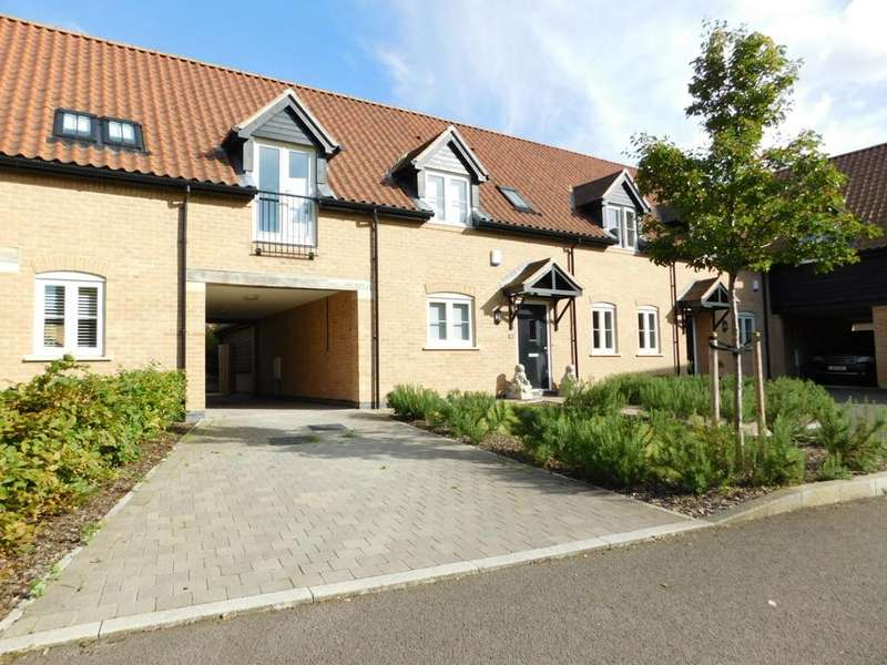 4 Bedrooms Terraced House for sale in Pedley Farm Close, Clifton, Shefford SG17 5FZ