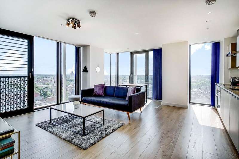 2 Bedrooms Flat for sale in Stratosphere, Great Eastern Road, London, E15