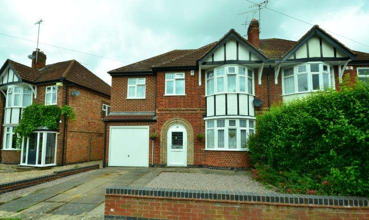 4 Bedrooms Semi Detached House for sale in Kenwood Road, Leicester
