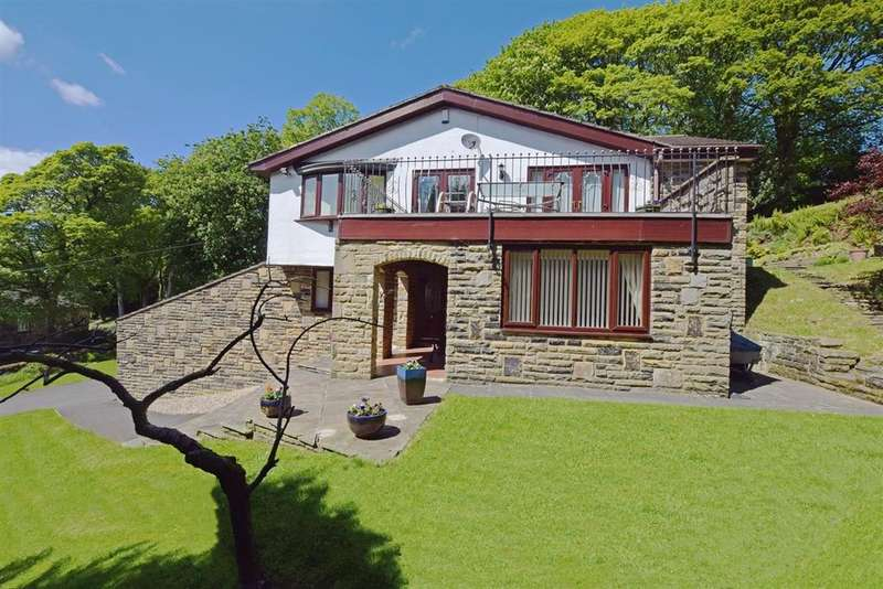 4 Bedrooms Detached House for sale in Stansfield Hall Road, Todmorden OL14