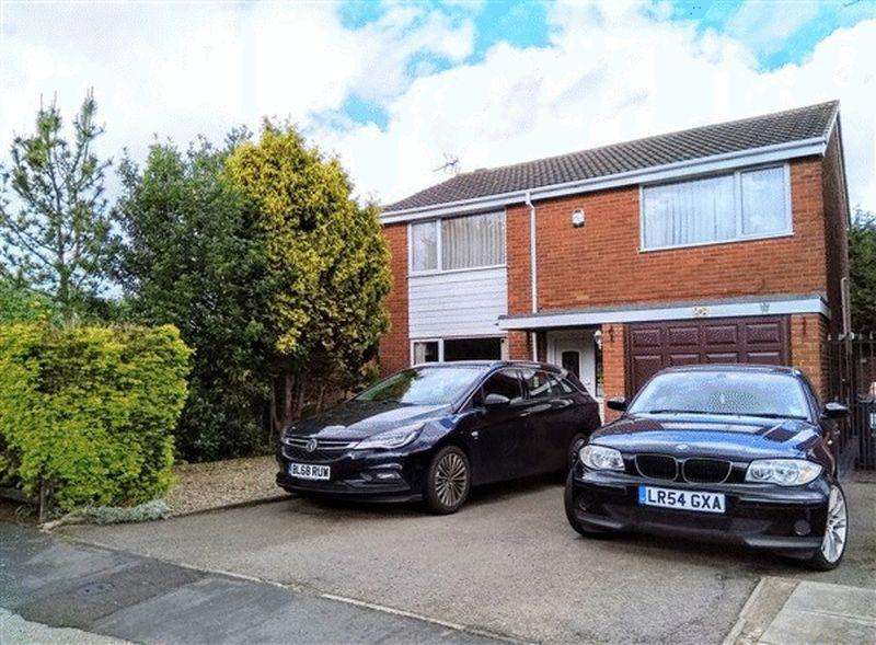 4 Bedrooms Detached House for sale in Hereford Close, Barwell