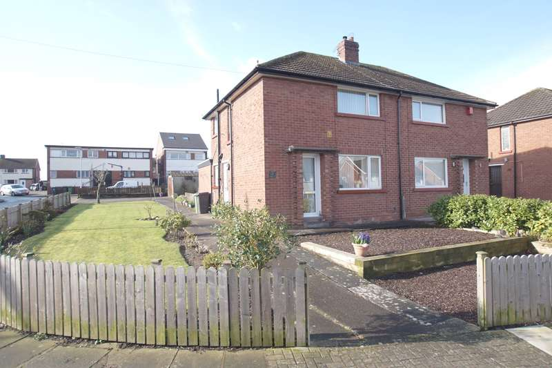 2 Bedrooms Semi Detached House for sale in Moor Park Avenue, Carlisle, CA2