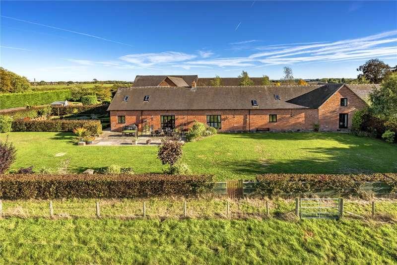 4 Bedrooms Barn Conversion Character Property for sale in 5 Cherrington Manor Court, Cherrington, Newport, Shropshire, TF10