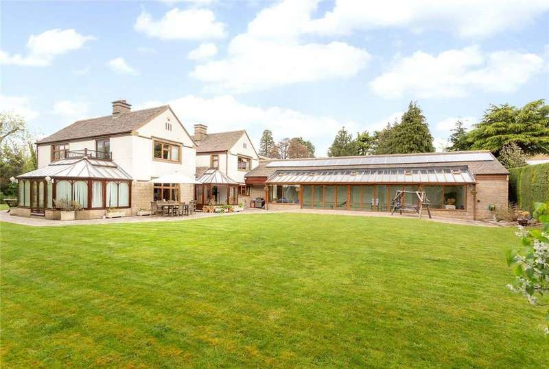 5 Bedrooms Detached House for sale in Birchley Road, Battledown, Cheltenham, Gloucestershire, GL52