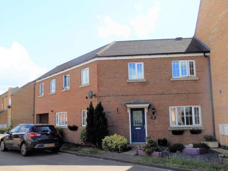 3 Bedrooms Semi Detached House for sale in Sandy, Bedfordshire