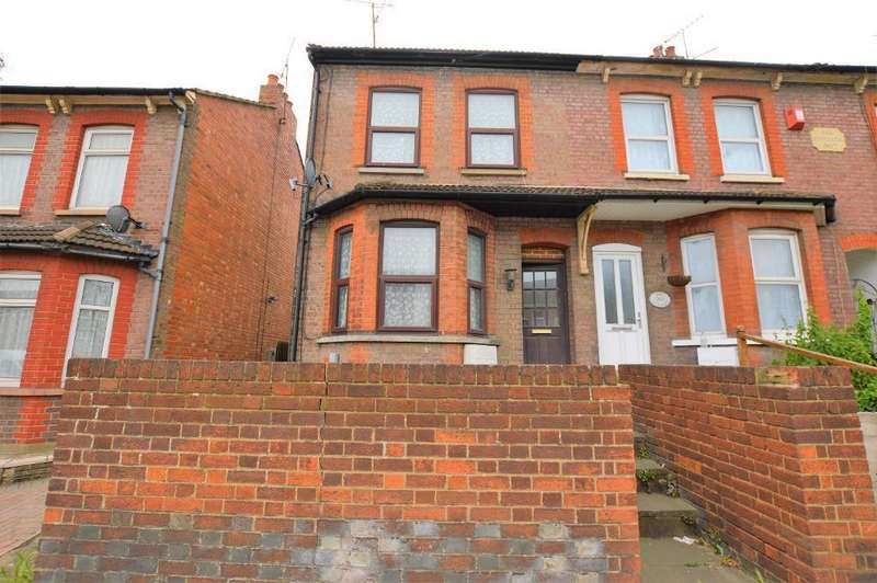 2 Bedrooms End Of Terrace House for sale in Oakley Road, Challney, Luton, Bedfordshire, LU4 9QD