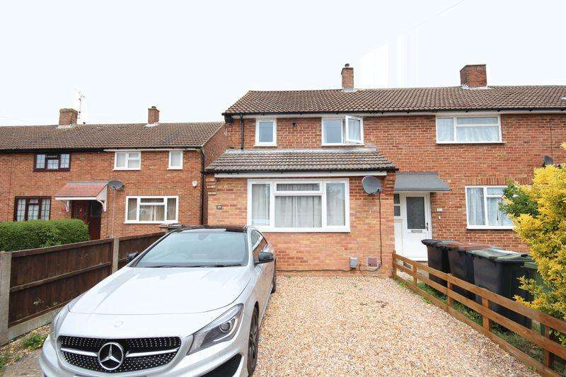 2 Bedrooms End Of Terrace House for sale in Extended to the front and back in Putteridge