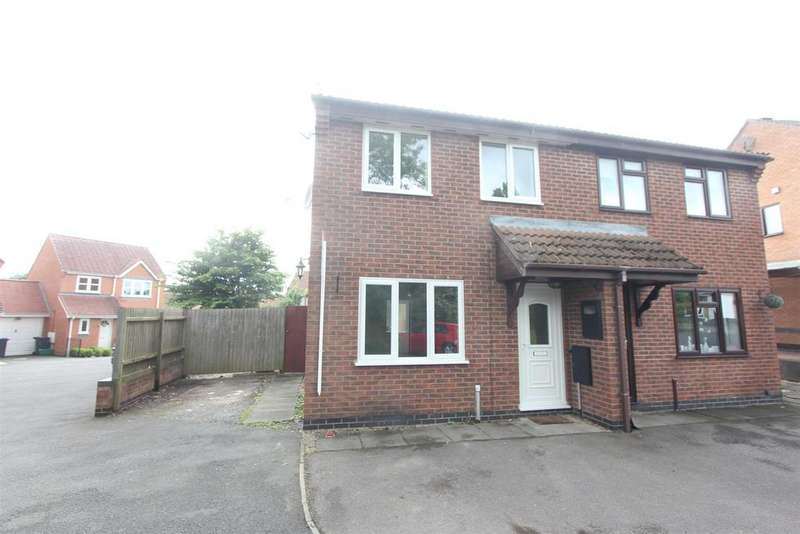 3 Bedrooms Semi Detached House for sale in Beatty Close, Hinckley