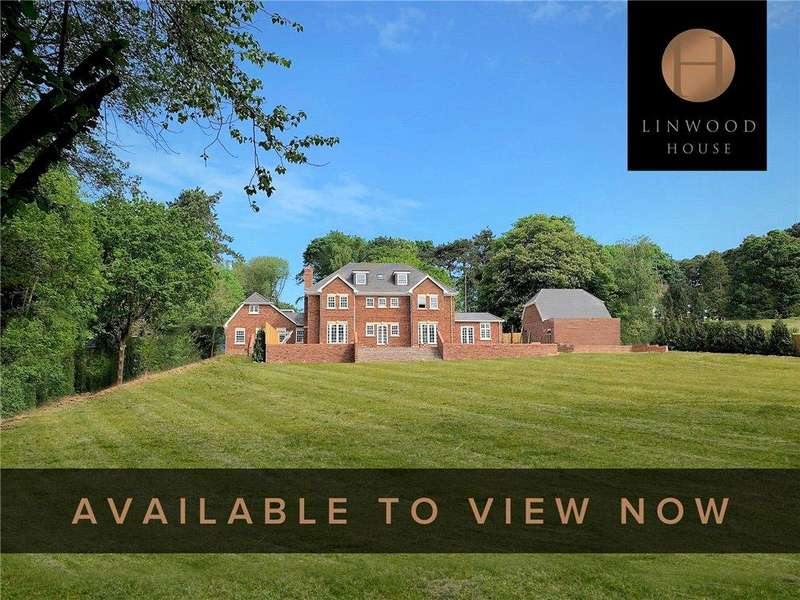 5 Bedrooms Detached House for sale in Scures Hill, Nately Scures, Hook, Hampshire, RG27