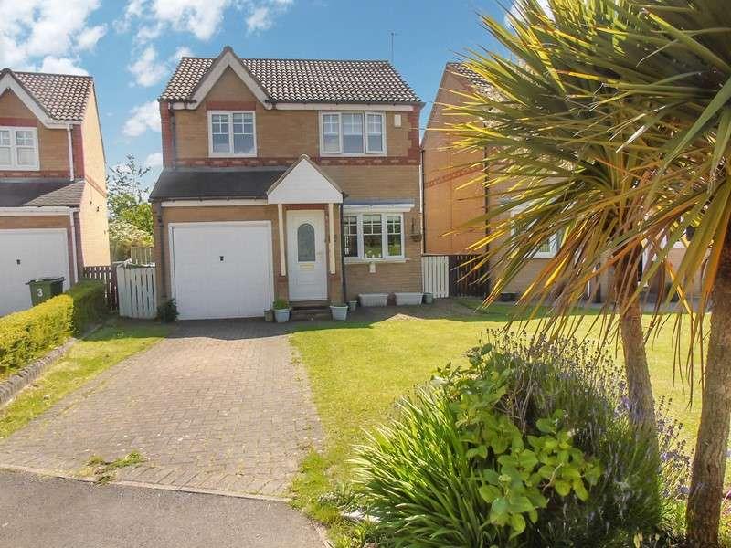 3 Bedrooms Property for sale in Mitchell Close, Peterlee, Peterlee, Durham, SR8 2QA
