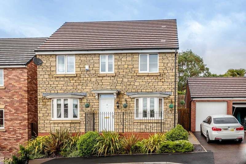 4 Bedrooms Detached House for sale in Meadow Rise, Lydney