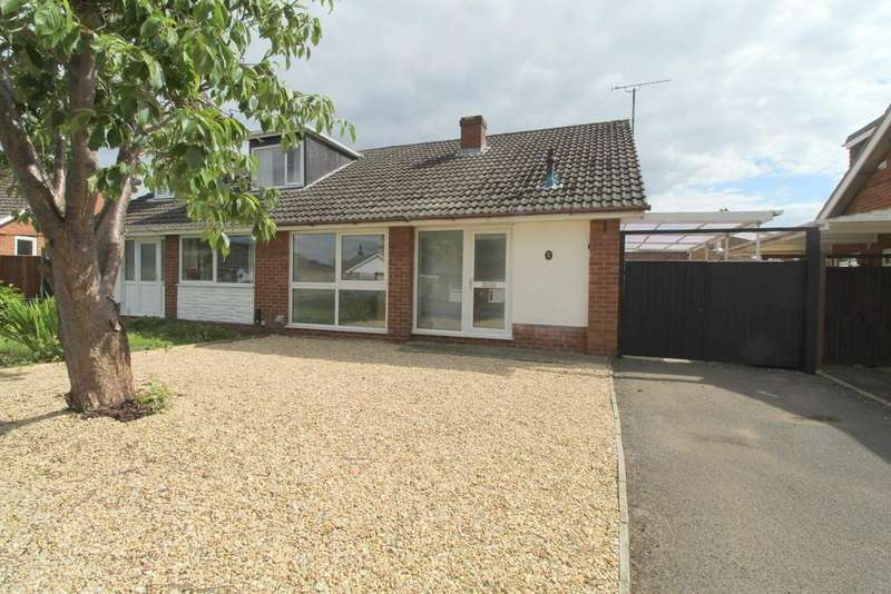 3 Bedrooms Semi Detached Bungalow for sale in Bishops Cleeve