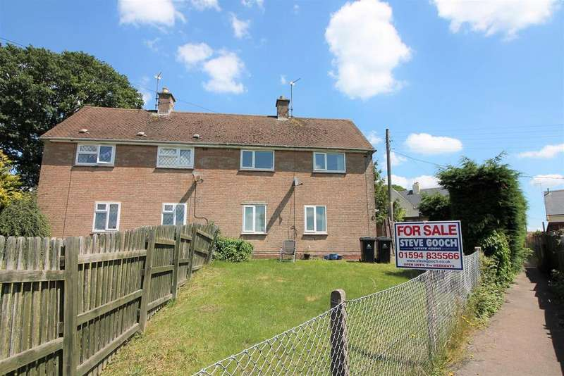 2 Bedrooms Semi Detached House for sale in South Road, Coleford