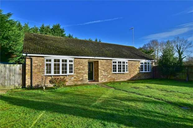 3 Bedrooms Detached Bungalow for sale in 93 Thorney Mill Road, IVER, Buckinghamshire