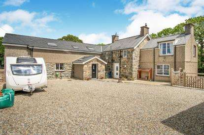 4 Bedrooms Detached House for sale in Rhoslan, Criccieth, Gwynedd, LL52