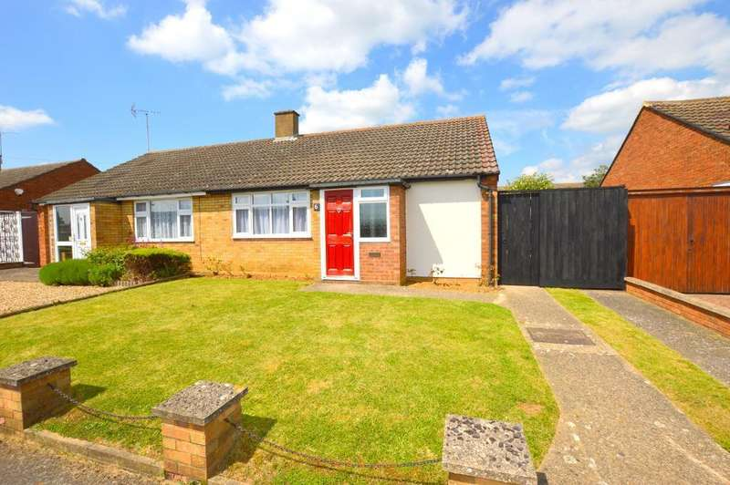2 Bedrooms Bungalow for sale in Monton Close, Limbury Mead, Luton, LU3 2TQ