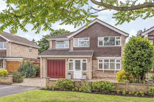 4 Bedrooms Detached House for sale in Portland Close, Bedford