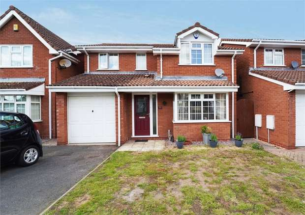 4 Bedrooms Detached House for sale in Golden Hind Drive, Stourport-on-Severn, Worcestershire