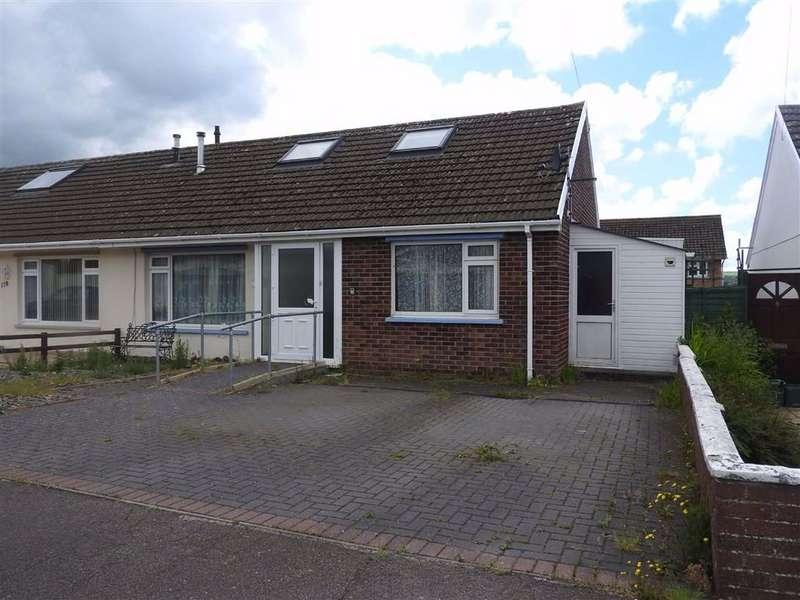 2 Bedrooms Semi Detached Bungalow for sale in Maesglas, CARDIGAN, Ceredigion