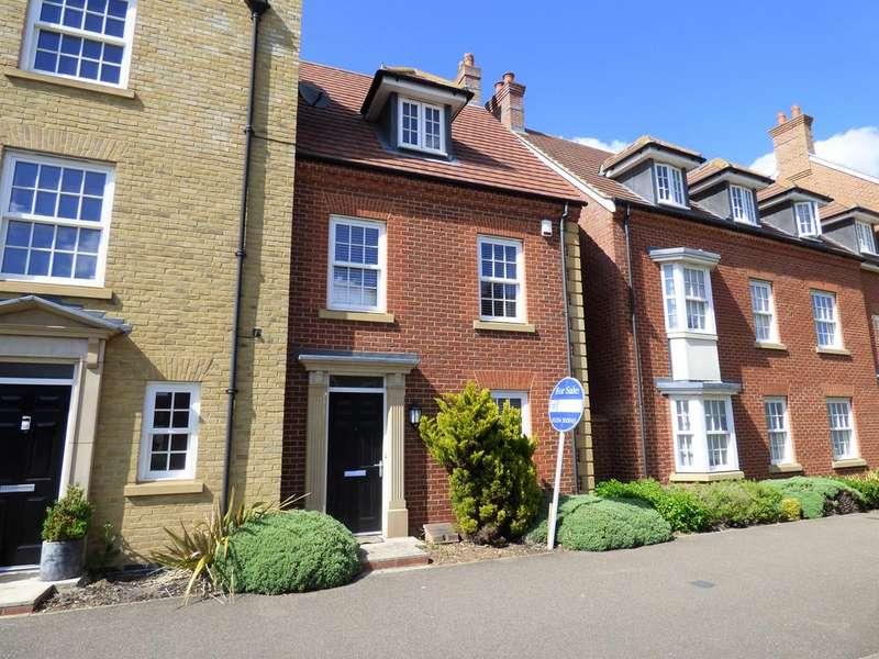 3 Bedrooms Terraced House for sale in Greenkeepers Road, Great Denham, Bedford MK40