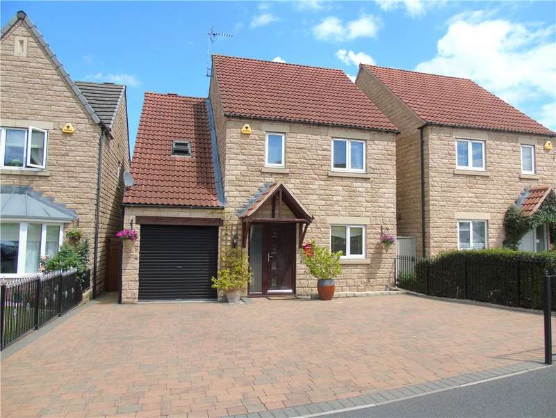 4 Bedrooms Detached House for sale in Grange Gardens, Loscoe, Derbyshire, DE75