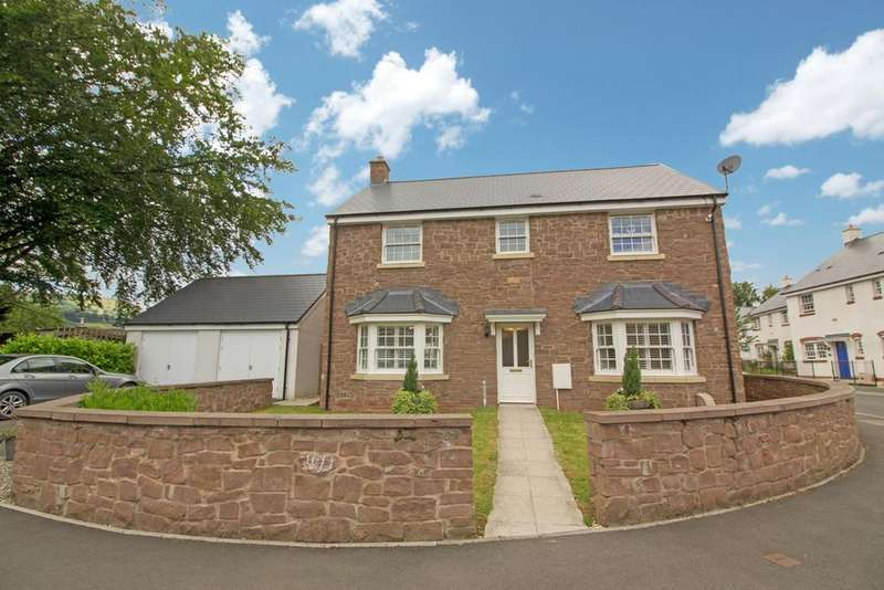 4 Bedrooms Detached House for sale in Crawshay Bailey Close, Gilwern, Abergavenny, NP7