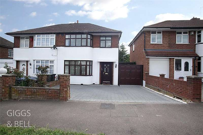 3 Bedrooms Semi Detached House for sale in Hollybush Road, Luton, Bedfordshire, LU2