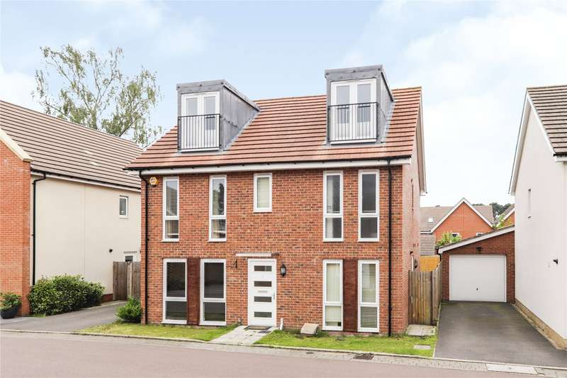 5 Bedrooms Detached House for sale in Buccaneer Road, Bracknell, Berkshire, RG12