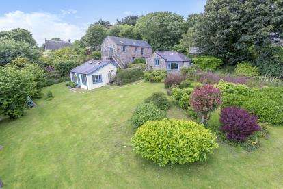 5 Bedrooms Detached House for sale in Gulval, Penzance, Cornwall