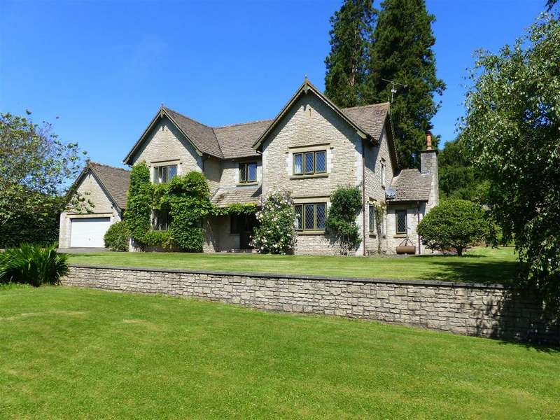 5 Bedrooms Detached House for sale in Itton, Chepstow