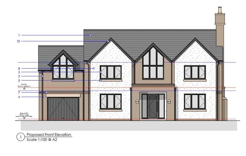 Property for sale in Croft Drive, Caldy, Wirral