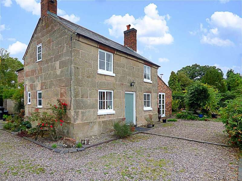 4 Bedrooms Detached House for sale in Greystone Cottage, MyddleWood, Myddle