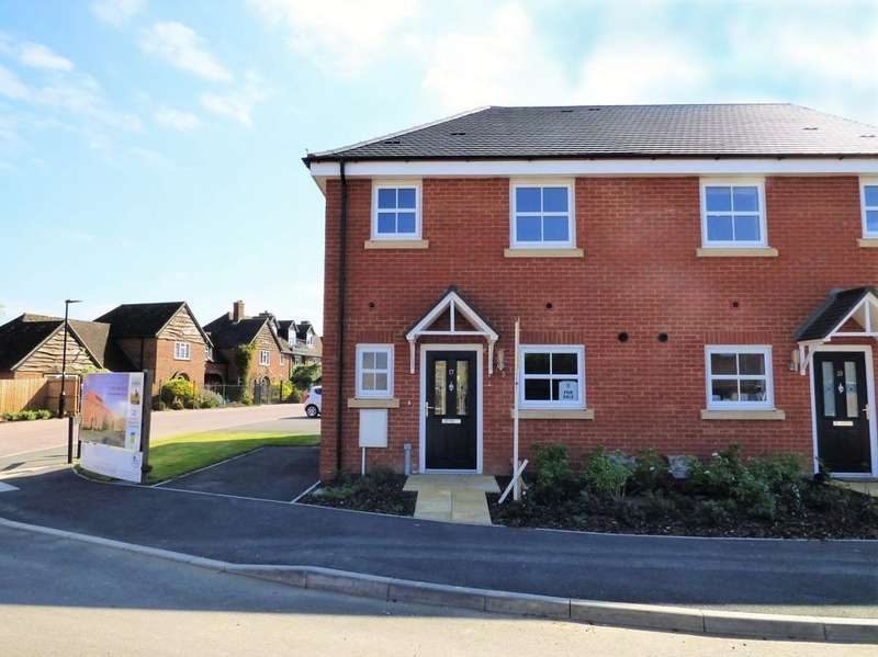 3 Bedrooms Semi Detached House for sale in Herberts Meadow, Clifton SG17