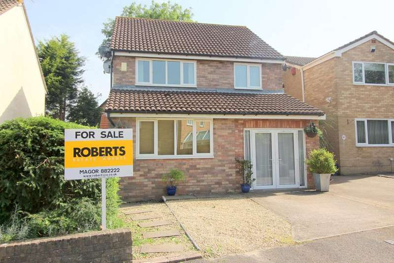 4 Bedrooms Detached House for sale in Quarry Rise, Undy, Caldicot, NP26