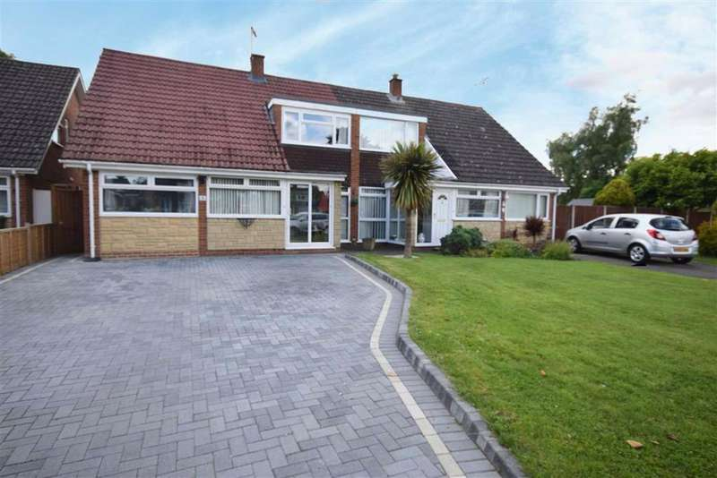 3 Bedrooms Semi Detached House for sale in Fernleigh Crescent, Cheltenham, Gloucestershire