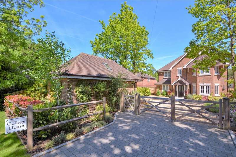 5 Bedrooms Detached House for sale in Lower Wokingham Road, Crowthorne, Berkshire, RG45